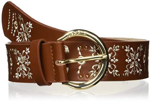 Desigual Belt_pañuelo Cinturón, Marrón (Camel 6011), 100 (Talla del fabricante: 85) para Mujer