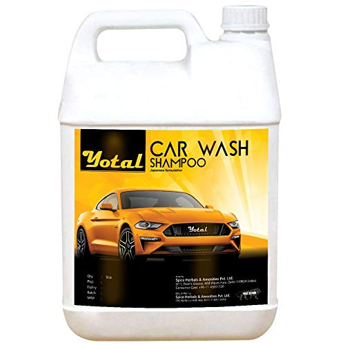 Yotal Car Wash Shampoo For Car Care,5L