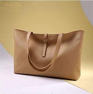 Shoulder Bag SportsShoulder Bag Handbag Handbag Simple Fashion Casual Handbag Clutch (Color : Khaki)