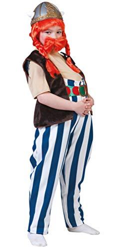 Karneval-Klamotten Gallier Kostüm Maxi Hose Kinder