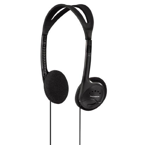 Thomson Stereo-HED301 Leichtkopfhörer (On-Ear, 54 g, 27-mm-Membrane, 95 dB)