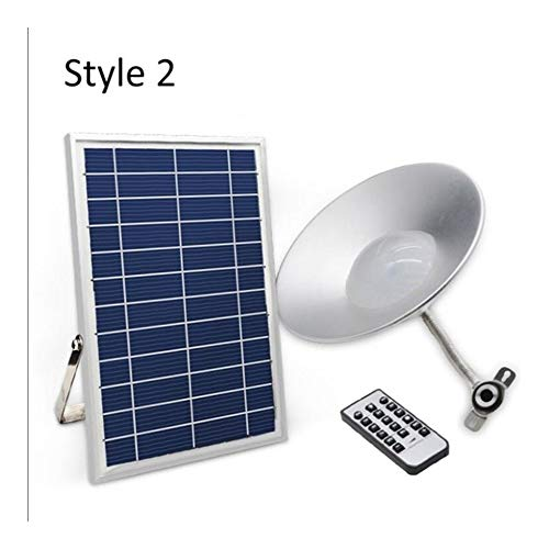 Waterproof Solar Wall Lights for Garages and Backy Led Shed Ceiling Light with Remote Control Pendent Lamp for Indoor Or Outdoor Garden Yard Patio Balcony 36 LEDs Solar Lights
