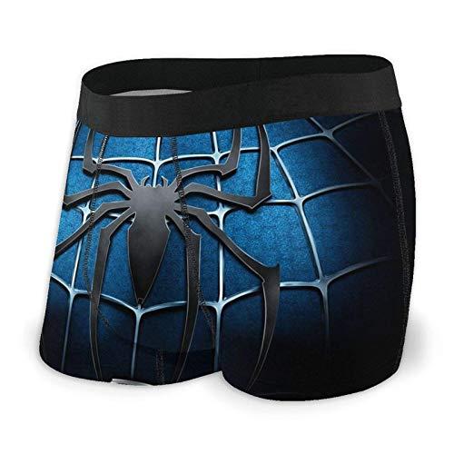 DWEO0JDWK Spiderman Herren Cotton Boxershorts 2 Pack-Large Black