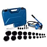 TEMCo TH0037 4' HYDRAULIC KNOCKOUT PUNCH Electrical Conduit Hole Cutter Set KO Tool Kit 5 Year Warranty