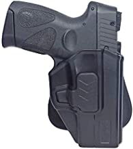 Tactical Scorpion Gear Slimline Modular Level II Retention Paddle Holster :Fits Sig Sauer P320 Carry, M18, Sub-Compact and Compact