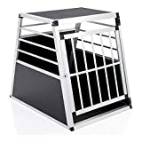COZY PET Aluminium Car Dog Cage 10 sizes Travel Puppy Crate Pet Carrier Transport Model ACDC07. (We do not ship the Channel Islands)
