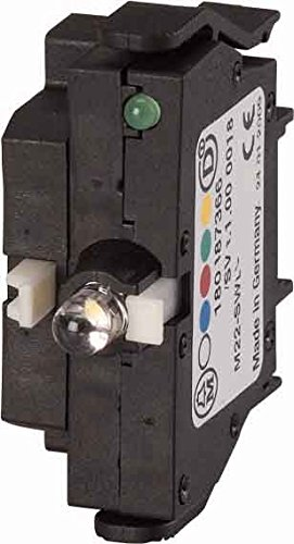 Eaton 116012 Leuchttaster-Funktionselement, Swd, 2 W, LED, rot, Bodenbefestigung