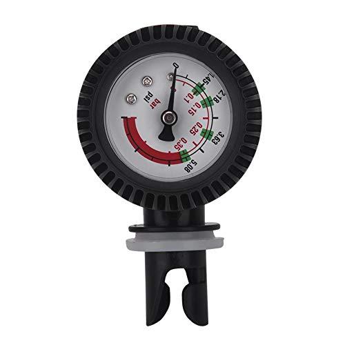 Yosoo Health Gear Kayak Air Pressure Gauge, Inflatable Boat Barometer Nylon Kayak Pressure Gauge Air Thermometer for Inflatable Boat Kayak Raft Surfing