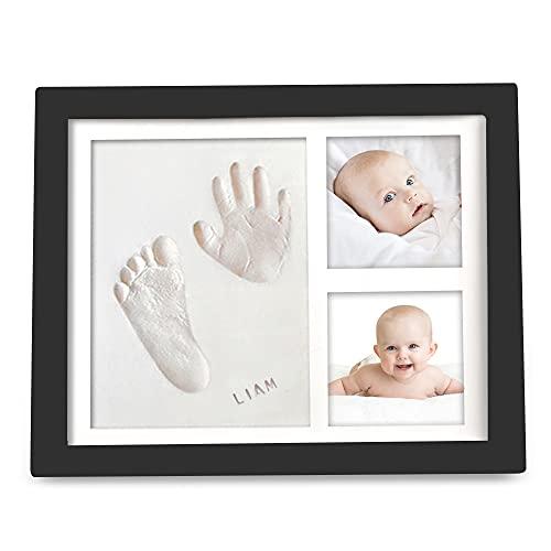 Baby Handafdruk Voetafdruk Herinnering Kit – Babyfoto's Fotolijstje voor Pasgeborenen – Babykamer Herinnering Kunst Kit…