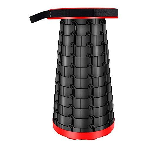 ysss Ysss Kunststoff Hocker Camping Klapphocker im Freien beweglichen Teleskop Stuhl Angeln Schuh Auflage Fuß Mazar Klappstuhl