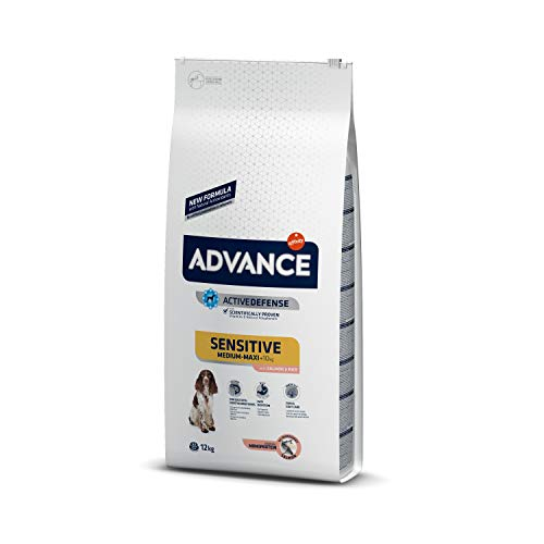 Advance Sensitive Pienso para Perro Adulto con Salmón - 12000 gr ✅