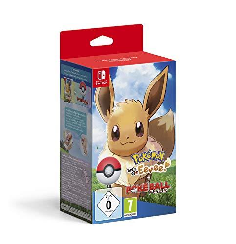 Pokémon: Let's Go, Eevee! + Poké Ball Plus - Bundle Limited - Nintendo Switch [Importación italiana]