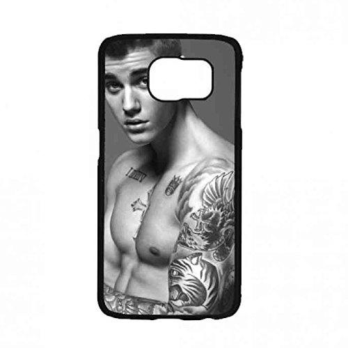 Justin Bieber Handy Hülle,Samsung GalaxyS7 Singer Hülle,Justin Bieber Spiegel Kalende Hülle,Justin Bieber Hülle Silikon Case Für Samsung GalaxyS7