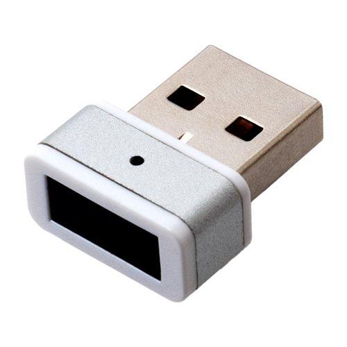 ミヨシ USB指紋認証ドングル ホワイト USE-FP01/WH 1個