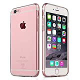 NEW'C Coque pour iPhone 6 Plus, 6s Plus, [ Ultra Transparente Silicone en Gel TPU Souple ] Coque de Protection avec Absorption de Choc et Anti-Scratch