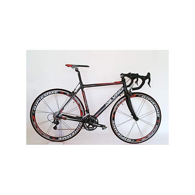 Da Vinci Rennrad 20 G Compact mit Gipiemme 716 Equipe Laufräder
