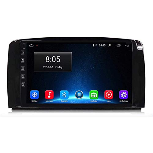 LNHJZ Android 9.0 Car Stereo Head Unit Kompatibel mit Mercedes Benz M-Klasse W164 2005-2012 GPS-Navigation 9-Zoll-Touchscreen MP5 Multimedia-Player Radio-Videoempfänger mit 4G DSP Carplay
