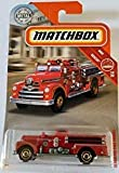 MBX Seagrave Fire Engine Red Matchbox Rescue...