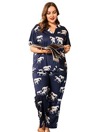 Pijama 3xl marca Milumia