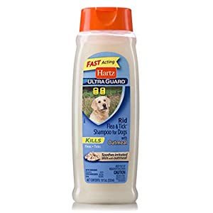 Hartz UltraGuard Rid Flea & Tick Oatmeal Dog Shampoo, Model:3270002305