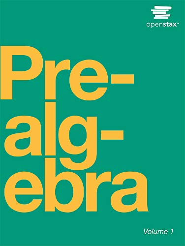 Prealgebra by OpenStax (paperback version, B&W)