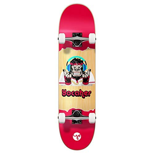 Yocaher Chimp Series Complete Decks Skateboards Available in Standard Skateboards & Mini Cruiser (Complete - 7.75 inch - Hear)