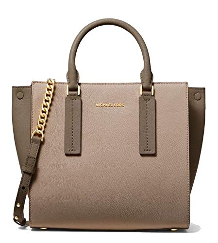 Alessa satchel strikes the perfect balance between smart and stylish with a structured silhouette and modern details. Accented by gold-tone hardware, this spacious style can be worn over the shoulder or held by the top handles. Consider it the polish...