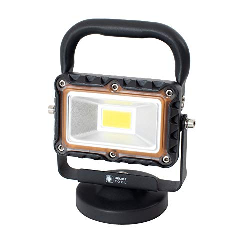 Helios Tool 1000 Lumen Heavy Duty Portable Metal LED Work Light with Magnetic Base
