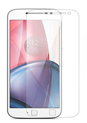 Granadatech Cristal Templado para Motorola Moto G4 Plus l Protector de Pantalla, Calidad HD, Grosor 0,3mm, Bordes Redondeados 2,5D, Resistencia 9H