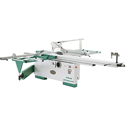 "in budget affordable Grizzly Industrial G0699-12 ""7-1 / 2 HP 3-Phase Saw with Slide Table and Scoring Blade Motor"