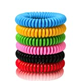 BuggyBands Mosquito Repellent Bracelets, 12 Pack Individually Wrapped, DEET Free, Natural and Waterproof Band