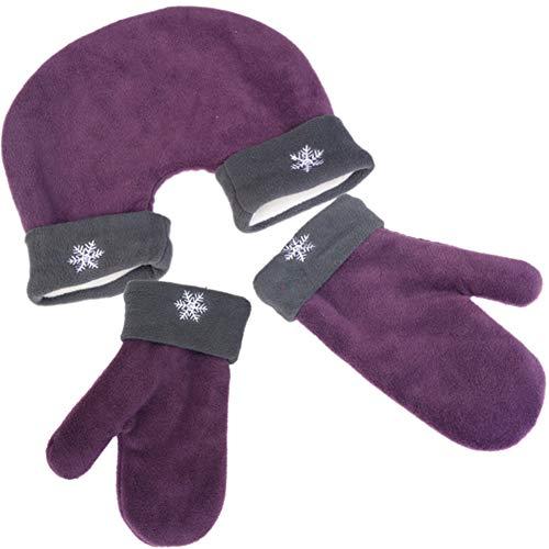 Winter Handschuhe Herren Damen, Partnerhandschuhe aus Doppelfleece - Frauen Ist Verliebte Paare Schneeflocke Winter Handschuhe, Paar Handschuhe Geschenkidee für Paare, Valentinstag