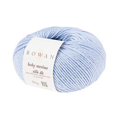 Rowan 9802154-00693 Handstrickgarn, 66% Wolle, 34% Seide, Cloud, 5cm x 11cm x 10cm