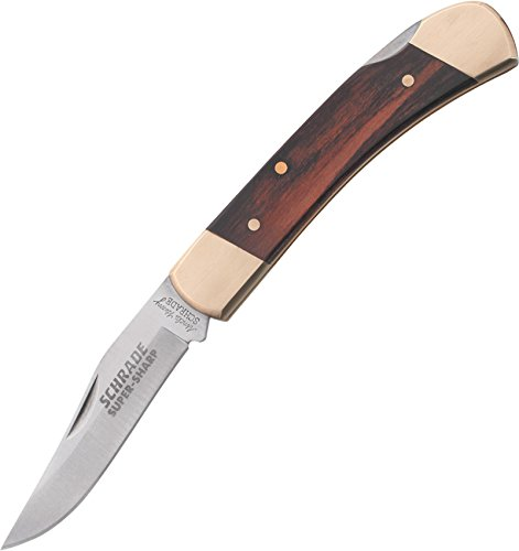 Uncle Henry LB5 Smokey Lockback Folding Pocket Knife Brown, 6-1/2'