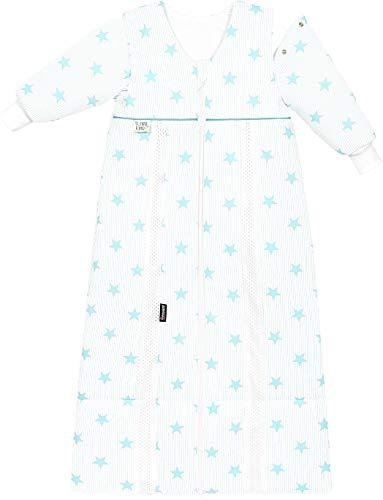 Odenwälder Schlafsack Prima Klima Thinsulate mit Arm stars soft mint 70-90 cm