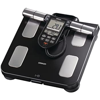 Omron Body Composition Monitor with Scale - 7 Fitness Indicators & 180-Day Memory