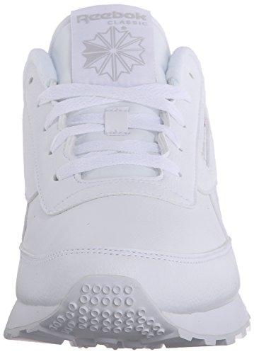 Reebok Women's Classic Renaissance Sneaker, White/Steel, 7 M US Arizona