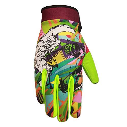 Saints of Speed Mountain Bike & Motorcycle Gloves (Large, Genius)