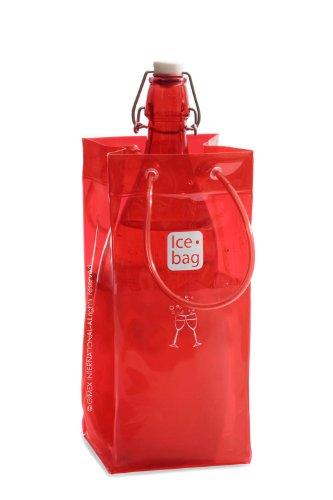 Ice-Bag Kirschrot neu- Weinkühler - Sektkühler - Flaschenkühler - 0,5 mm