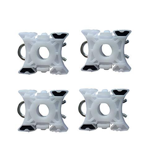 4x Fensterheber Gleitbacke Vorne Links und Rechts für 3er E36 5er E34 7er E32 Z3 E36 Z4 E85 1986-2009 51321938884