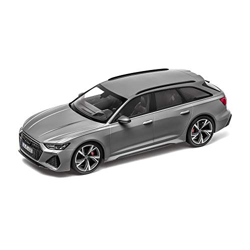 Audi 5012016251 Modellauto RS6 Avant 1:18 Miniatur Modell, grau
