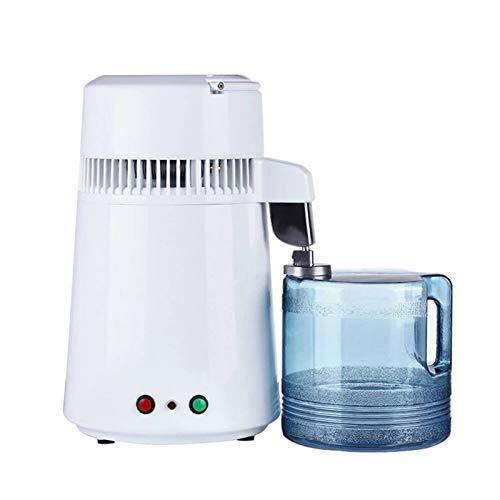 1,1 Gallon / 4 L Wasser Distiller-Maschine Edelstahl Destilliertes Wasser Purifier Filter 750W Wasserdestillation Kit Mit Anschluss Flasche Glasbehälter Für Heim Aufsatz-,110v