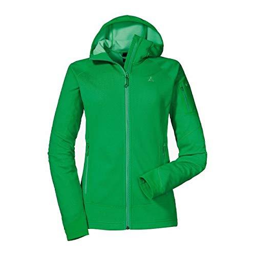 Schöffel Latsch Fleece Jacket Giacca in Pile da Donna, Verde Isola, 42