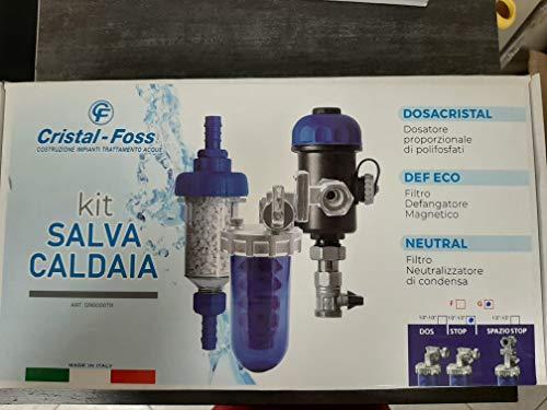 Kit Salva Caldaia con Dosatore di Polifosfati- Defangatore- Neutralizzatore di acidità