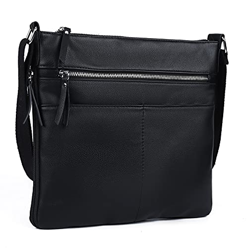 Crossbody Bag For Women,Small Shoulder Bag With Multi Pocket, Soft Leather...