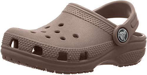 Crocs Classic Clog Kids Roomy fit Zuecos Unisex niños, Marrón (Khaki 260), 20/21 EU
