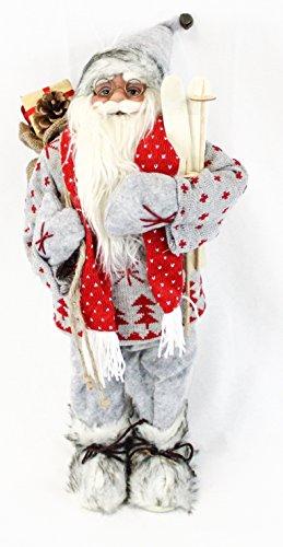 Papá Noel Figura decorativa Navidad Hombres (aprox. 60cm Decoración Papá Noel Santa claus| 6modelos distintos a elegir