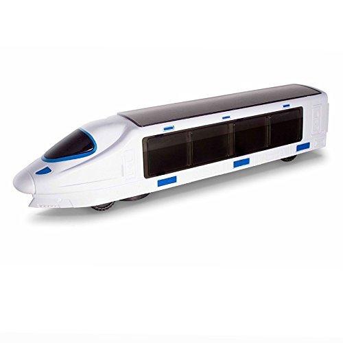 Gearmax Tren Eléctrico Luces Musicales Alta Velocidad Ferroviaria Modelo Juguete para niños