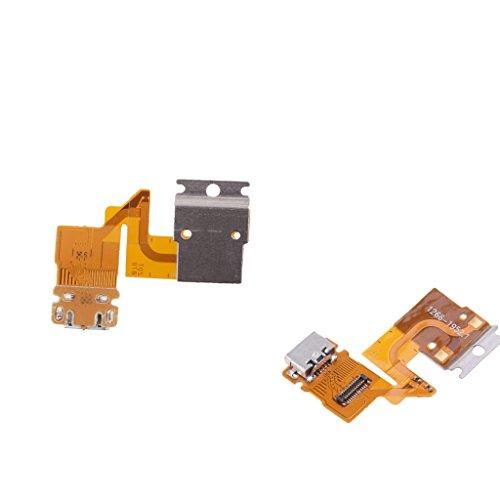 Almencla 2 XCharging Flex Cable USB Dock Charger Port per Sony Xperia Tablet Z SGP311