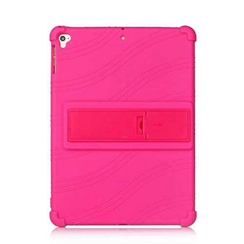 Silicon Case for iPad 10.2 2019 7th Gen Soft Case Full Body Cover for iPad pro 10.5 Air 3 2019 case-hot pink